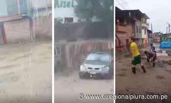 Torrencial lluvia soporta la provincia de Huancabamba - El Regional