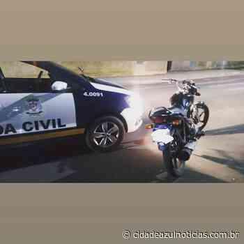GCM localiza motocicleta que foi roubada em Santa Gertrudes - Cidade Azul Notícias