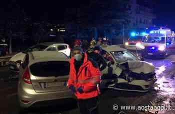 Quattro feriti in un incidente stradale a Gressan - Aosta Oggi