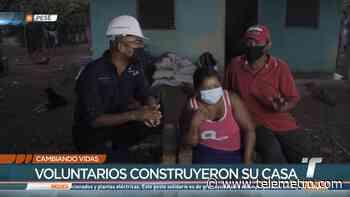 Construyen casa a familia de bajos recursos en Pesé - Telemetro