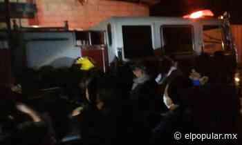 Pobladores de Zinacatepec agreden a bomberos por atender incendio de forma tardía - El Popular