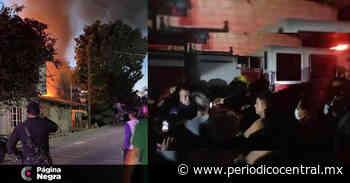 """Por """"llegar tarde"""", vecinos y policías de Zinacatepec golpean bomberos - Periodico Central"""