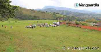 Listo el lote, colegio de Charalá debe entregarse antes de un año - Vanguardia