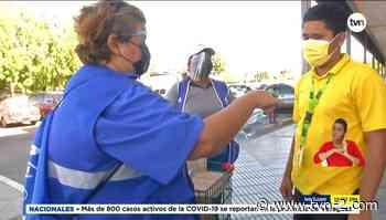 Entregan pantallas faciales entre residentes de Chitré - TVN Noticias
