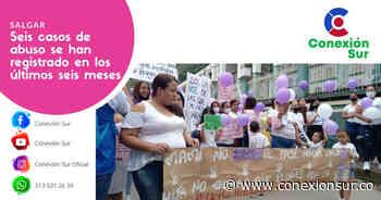 Mujeres de Salgar marcharon y alzaron su voz de protesta contra casos de abuso - ConexionSur