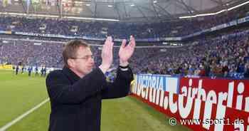 Schalke 04: Unruhige Amtszeit von Ralf Rangnick mit Manager Rudi Assauer - SPORT1
