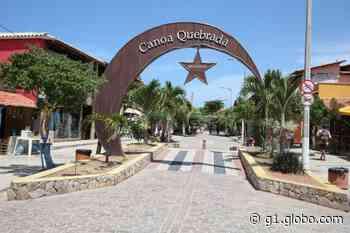 Principais destinos turísticos no carnaval do Ceará, Aracati e Jericoacoara ficam com ruas vazias neste sábado - G1