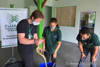 Fundema de Barra Velha conhece trabalho de resgate da fauna na Fujama - Jornal do Vale do Itapocu