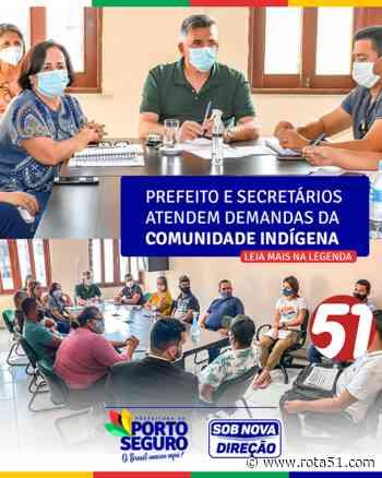 Comunidade indígena de Barra Velha encaminha demandas diretamente ao prefeito Jânio Natal. - Rota 51 - Notícias em Tempo Real