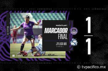 Mazatlan Femenil rescata el empate al último minuto ante Puebla | Deportes | Noticias | TVP - TV Pacífico (TVP)