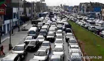 SMP: caos y tráfico generó cierre temporal del puente Bella Unión   Panamericana TV - Panamericana Televisión