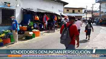 Vendedores ambulantes de Penonomé señalan que son perseguidos por las autoridades - Telemetro