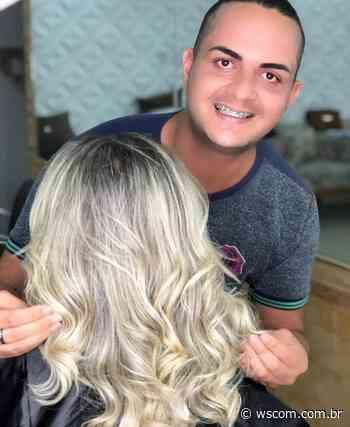 """De Lauro de Freitas para o mundo: destaque nordestino, cabeleireiro Cássio Patryck é reconhecido como """"O príncipe das loiras"""" - WSCom online"""