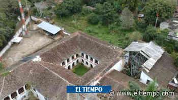 El lamentable estado en que alcaldía de Guaduas dejó convento de 1610 - El Tiempo
