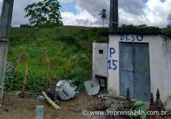 Roubo de transformadores interrompe abastecimento de água em Nossa Senhora do Socorro - https://www.imprensa24h.com.br/