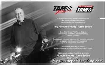 """Falleció Alfredo """"Freddy"""" Tame, impulsor del automovilismo en México - Yahoo Deportes"""