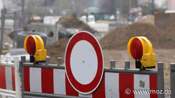 Bauarbeiten: Bahnübergang am S-Bahnhof Ahrensfelde wird mehrere Wochen lang gesperrt - moz.de