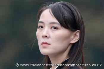 Kim's sister criticises US and South Korea for holding military exercises - Lancaster and Morecambe Citizen