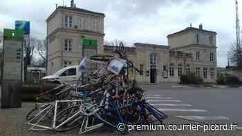 À Orry-la-Ville, trois associations manifestent pour un abri-vélos sécurisé en gare - Courrier picard