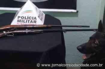 Polícia Militar apreende espingardas próximo a escola em Conselheiro Lafaiete   Correio Online - Jornal Correio da Cidade