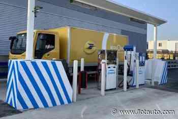 La station GNV du site postal de Viapost inaugurée à Chelles - Flottes Automobiles