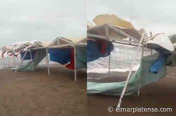 Punta Mogotes: el viento se lleva lo último que queda de - El Marplatense