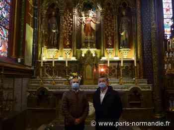 EN IMAGES. Un grand diagnostic réalisé dans la basilique de Bonsecours - Paris-Normandie