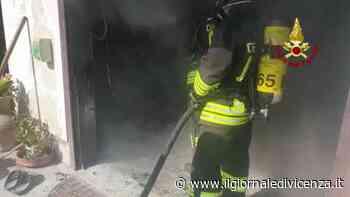 Video: Incendio a Montebello Vicentino - Il Giornale di Vicenza