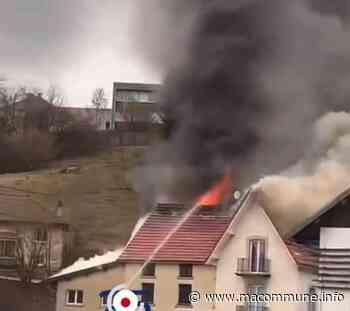 Incendie d'AJ Moto à Maiche : trois logements mitoyens touchés par les flammes • macommune.info - MaCommune.info