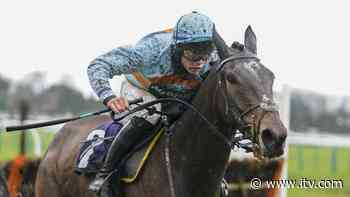 Beauport wins the European Breeders' Fund Paddy Power 'National Hunt' Novices' Handicap Hurdle Final - ITV News