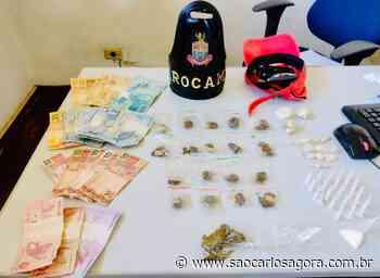 Policiais militares da Rocam apreendem drogas em Descalvado - São Carlos Agora