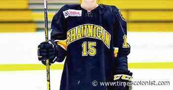 Shawnigan Lake School's Bulmer dreams of NCAA, Olympics and pro hockey - Times Colonist