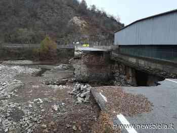 Provincia, ultimi aggiornamenti sullo stato dei lavori al ponte di Crevacuore - newsbiella.it