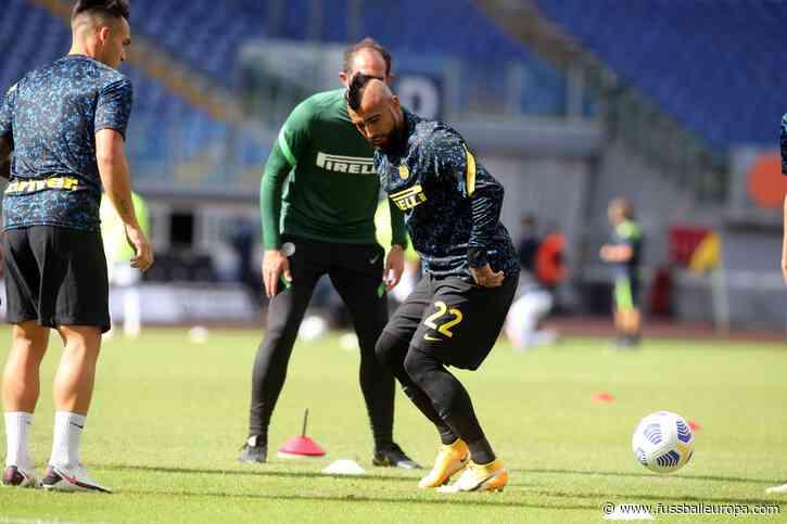 Inter Mailand: Bittere Nachricht für Arturo Vidal - Fussball Europa
