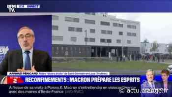 """Pour le maire de Saint-Germain-en-Laye, """"il faut que ce confinement soit le moins contraignant possible pour les habitants"""" - Actu Orange"""