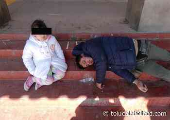 Niña acompaña a su papá borracho, habitantes buscan a familiares en Ocoyoacac - TOLUCA