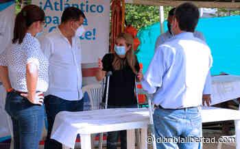 """""""Obras de alcantarillado en Palmar de Varela beneficiarán a más de 12 mil atlanticenses"""": Elsa Noguera - Diario La Libertad"""