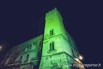 Vico del Gargano, Palazzo della Bella s'illumina di verde: omaggio all'Irlanda - Foggia Reporter
