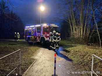 Feuerwehreinsatz in Leingarten wegen Gewässerverunreinigung - Heilbronner Stimme