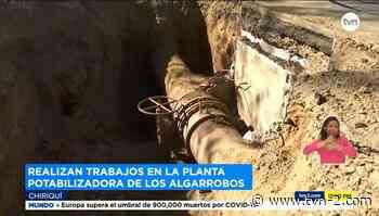 Mantenimiento de potabilizadora de Los Algarrobos deja sin agua potable a varios residentes en David - TVN Panamá