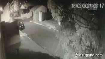 Explosivos são jogados contra casa de PM, em Porecatu; VÍDEO - G1