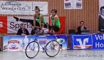 Kunstradsport: Eva und Lena Streit knacken die Hunderter-Marke - SÜDKURIER Online