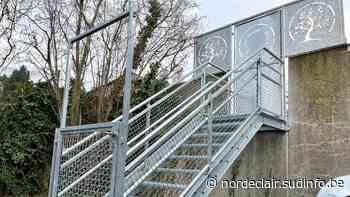 Pecq: une rampe à l'école libre Saint-Martin financée par le jeu «septante et un» - Sudinfo.be