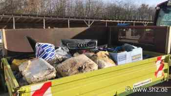 Mildstedt: Illegale Müllentsorgung: Gemeinde ist dem Täter auf der Spur   shz.de - shz.de