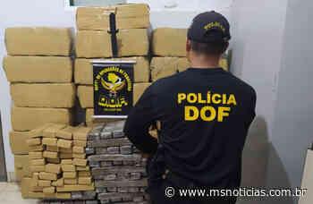 Carro roubado em Terra Roxa (PR) é recuperado em MS levando 570 quilos de maconha - MS Notícias