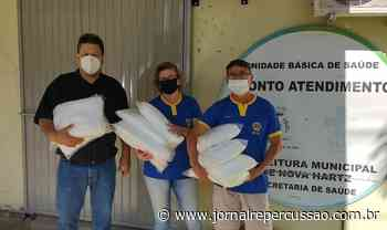 Secretaria de Saúde de Nova Hartz recebe doação de EPIs do Lions Clube - Jornal Repercussão