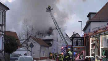 Dachstuhlbrand in Friedrichsdorf-Köppern - HIT RADIO FFH