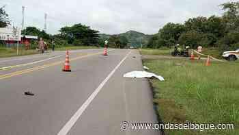 Carro 'fantasma' mató a un abuelito ciclista en La Variante de Natagaima - Ondas de Ibagué