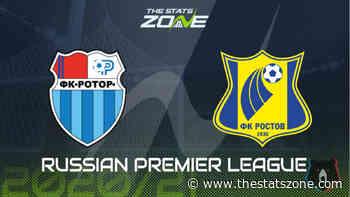 2020-21 Russian Premier League – Rotor Volgograd vs Rostov Preview & Prediction - The Stats Zone