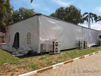 Com superlotação, Santa Casa de Angatuba improvisa 14 leitos Covid em tenda no jardim - G1